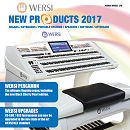 Folder Wersi OAX Product Range 2017