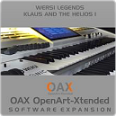 Klaus and the Helios - voor Sonic OAX Orgels