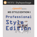 Wersi MS Professional Style edition 1 Pakket voor OAS Orgels