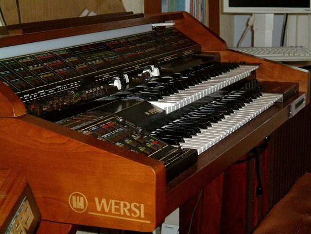 Wersi Wega CD600 Orgel